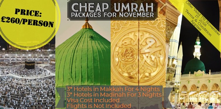 November Umrah Packages