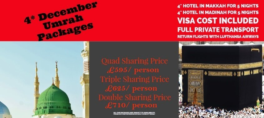 December Umrah Deals Uk