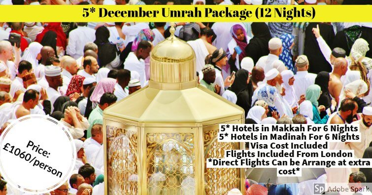 december umrah Package